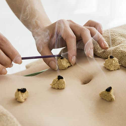 Moxibustion | Tegories% | Shrucken